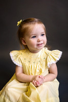 { littles } phoebe :: yellow dress